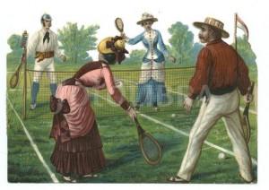 A tenisz divat története