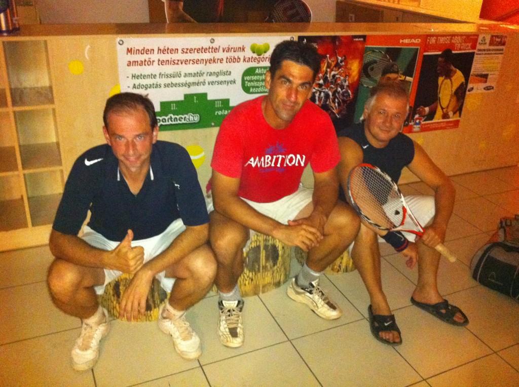 42 résztvevő vett részt a Teniszpartner Grand Slam versenyen a Sportmax1-en