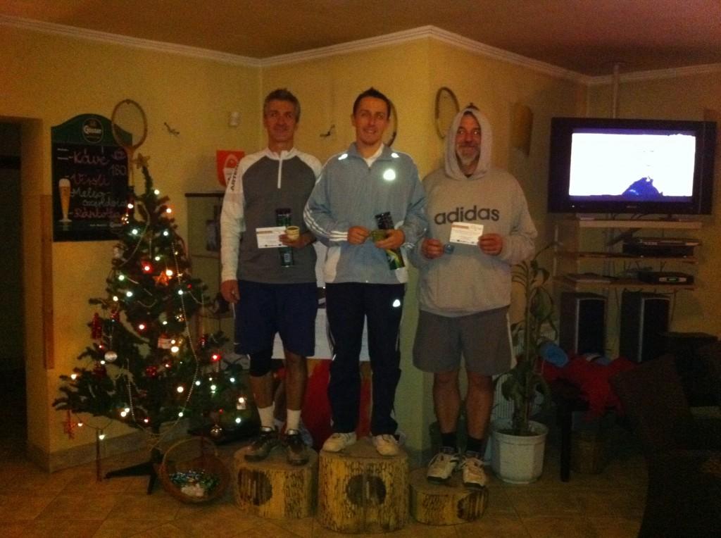 Karácsony váró verseny a Poén Teniszklubban