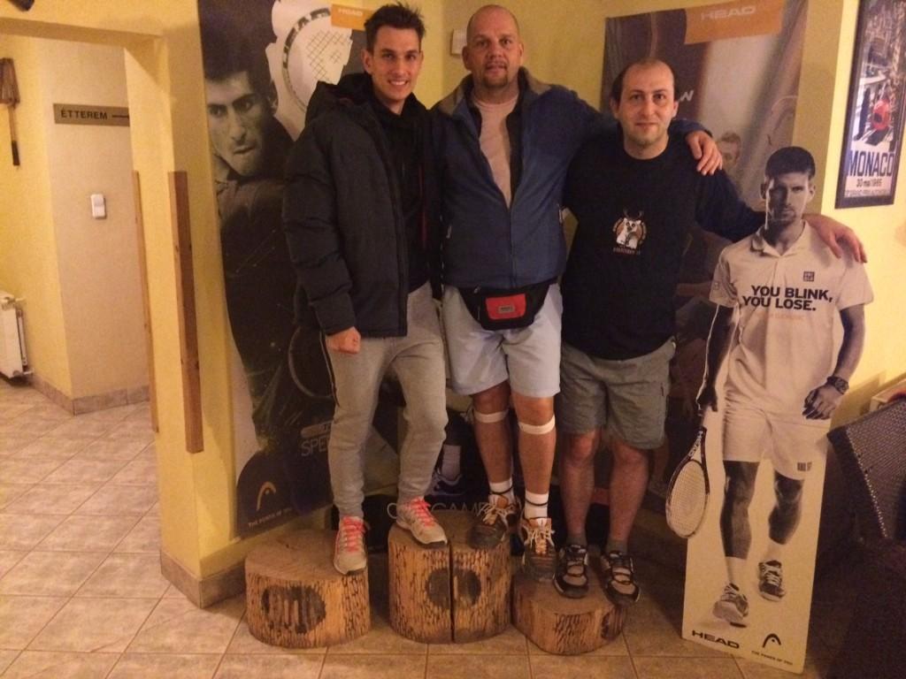 Damir Letica, Boros Miklós és Hronyecz János a hétvégén nem találtak legyözőre