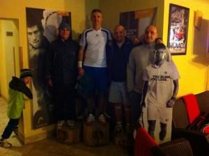 A hétvége győztese Tóth Sándor a Poén teniszklubban