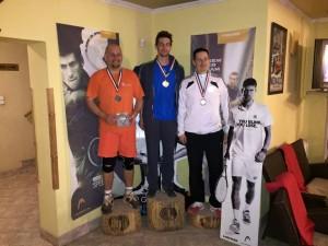 A hétvége győztese jobbak kategóriában a Poén Teniszklubban Lengyel Márton és legjobbak kategóriába Bikás dombon Klimasevszky András