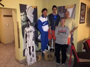 A hétvége első helyezettjei a Poén Teniszklubban Szabó Ferenc és Lengyel Márton