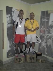 A Wimbledoni Grand Slam verseny győztese Erdős György és Dudics Júlia