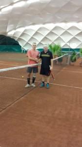 A hétvége győztesei: Katona Károly, Németh Ádám és Varga Péter