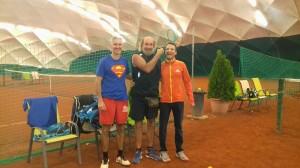 A győztesek Pap Sanyi és Tóth Sanyi