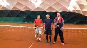 A hétvége bajnoka Éles János a jobbaknál és Vágvölgyi Szabolcs a szebbeknél
