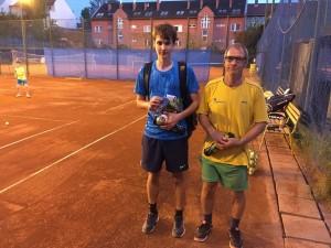 Pénteki győztes Varga Roland, szombati pedig Varga Boldizsár