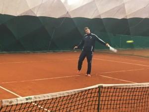 Fedett pályás szezonnyitó hétvége győztese Farkas Balázs