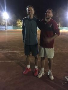 Grand Slam győztesek Tóth Tamás a legjobbak kategória, Nguyen Zoltán és Gönczi András pedig a jobbak megosztott elsők