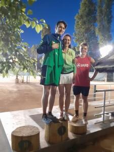 Dr. Fazakas Beatrix és Benedek Zoltán a hétvége győztesei, családi dobogó lett :)